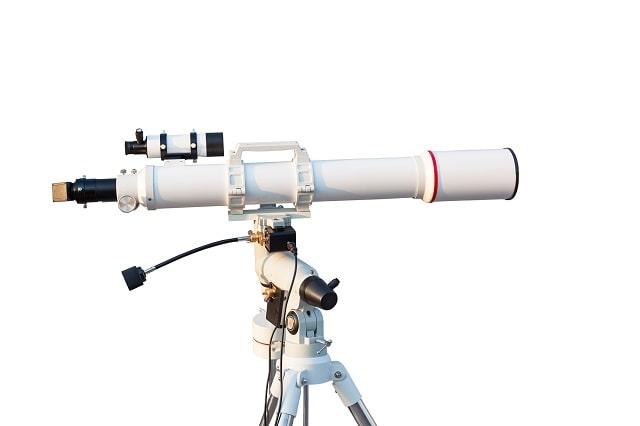 White telescope