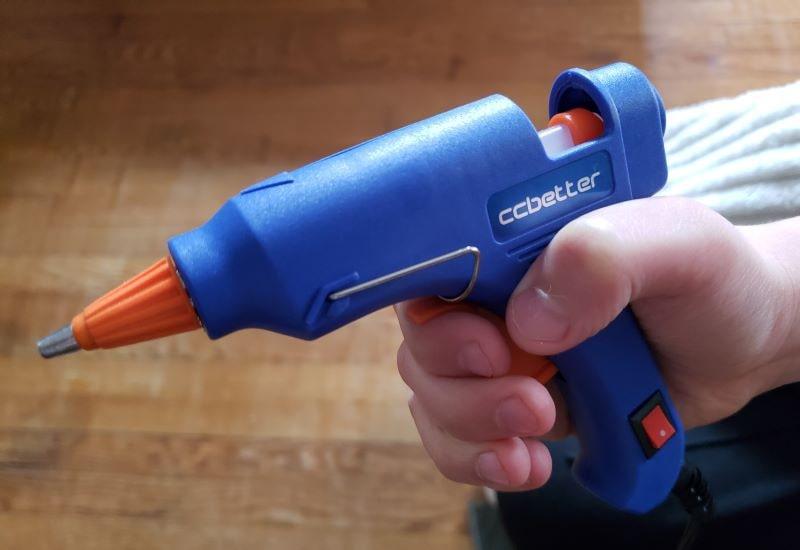 CCBETTER Mini Hot Melt Glue Gun