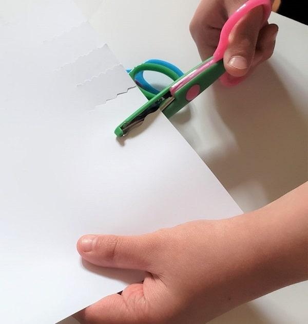 UCEC Decorative Paper Edge Scissor Set